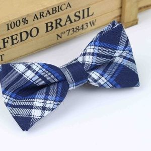 Other - Boys Toddler Blue & White Plaid Bow Tie